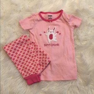 Gymboree Easter jammies size 2T